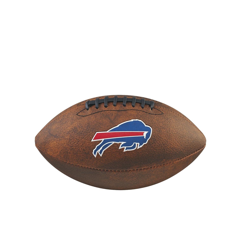 Wilson NFL fútbol americano de 22,9Junior, Unisex, NFL Junior Throwback Team Logo Football, marrón Wilson Sporting Goods - Team WTF1539IDBF