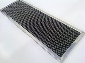 """6-1//8/"""" x 8-3//4/"""" x 3//8/"""" Aftermarket Charcoal Filter for GE JX81B"""