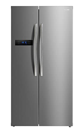 Panasonic 584 L Frost Free Side by Side Refrigerator NR BS60MSX1, Stainless Steel, Inverter Compressor  Refrigerators