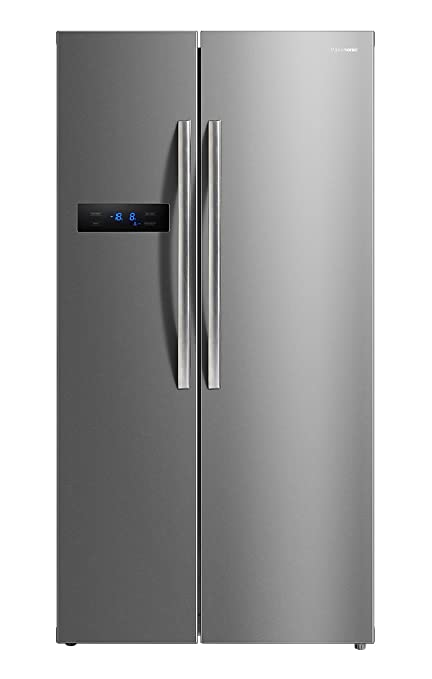 Panasonic 584 L Frost Free Side by Side Refrigerator NR BS60MSX1, Stainless Steel  Refrigerators