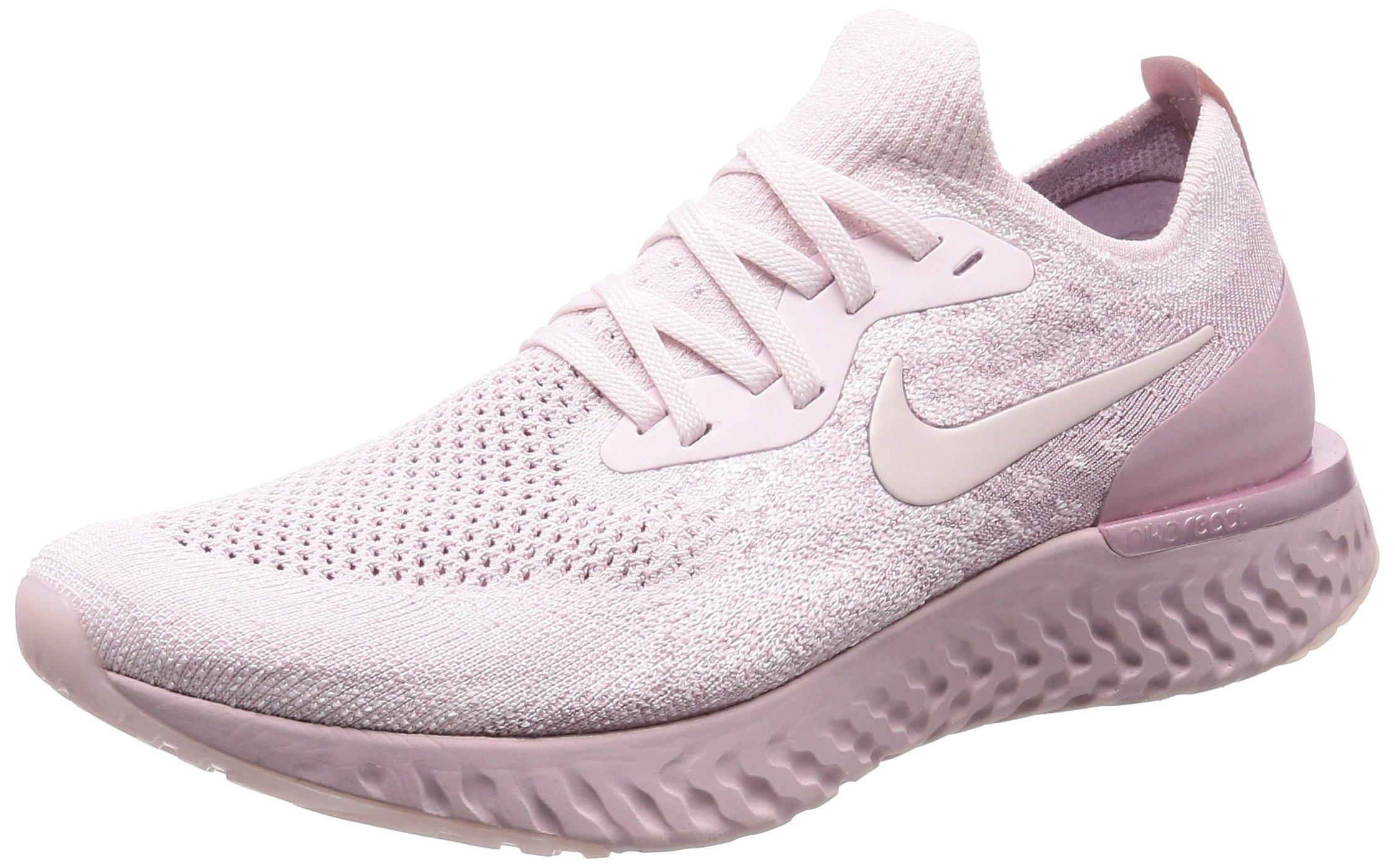 f589070c3e8ea Nike Mens Epic React Flyknit Running Trainers AQ0067 Sneakers Shoes (UK 7.5  US 8.5 EU 42, Pearl Pink 600)