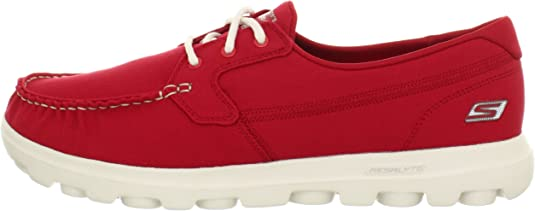 Skechers - Mocasines para Hombre Rojo Red: Amazon.es: Zapatos y complementos