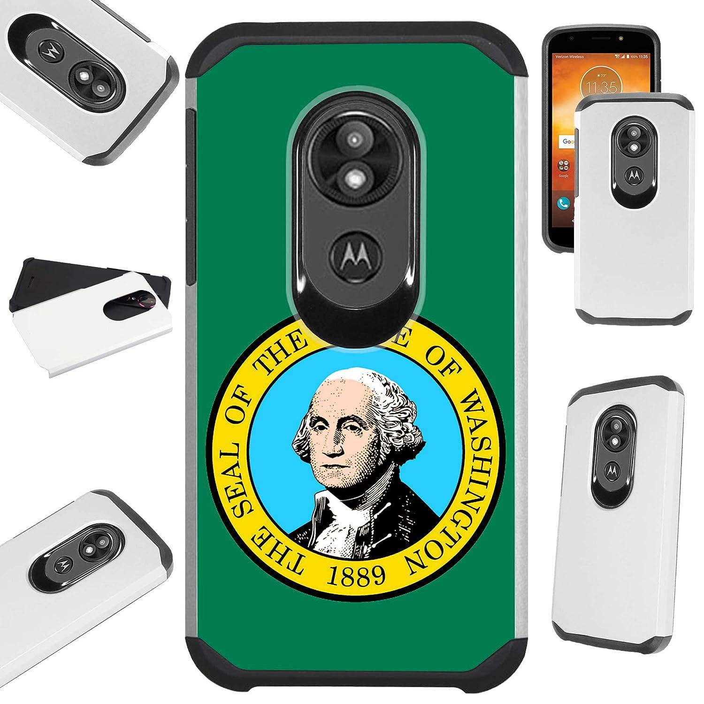 Amazon com: Compatible Motorola Moto G7 Play (2019) Case Hybrid TPU