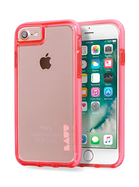 pretty nice 3bf5c 6798b LAUT - FLURO IMPKT Tough Case For iPhone 8 & iPhone 7 & iPhone 6s/6 (Pink)
