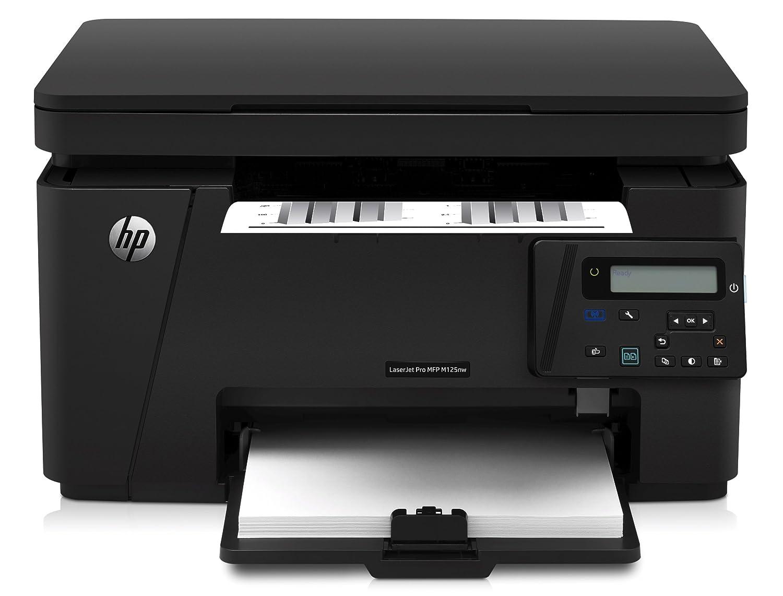 HP LaserJet Pro M125A Stampante Stampante Multifunzione, Display LED, A4, USB 2.0 Hi-Speed, Nero CZ172A