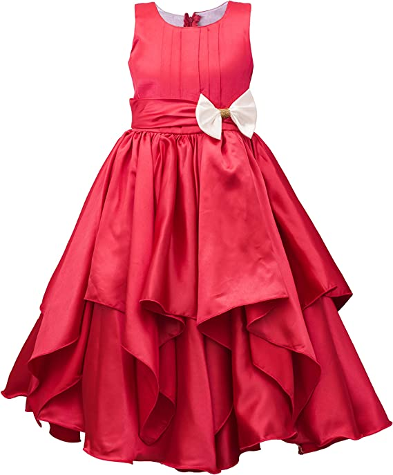 My Lil Princess Baby Girl's Cute and Pretty Kids Fairy Frock Dress Girls' Dresses & Jumpsuits at amazon