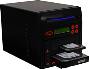 """Systor 1 to 1 SATA 150MB/s HDD SSD Duplicator/Sanitizer - 3.5"""" & 2.5"""" Hard Disk Drive Solid State Drive Dual Port Hot Swap (SYS201HS-DP)"""