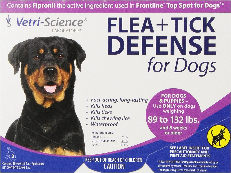 Vetri-Science Laboratories Flea and Tick Defense