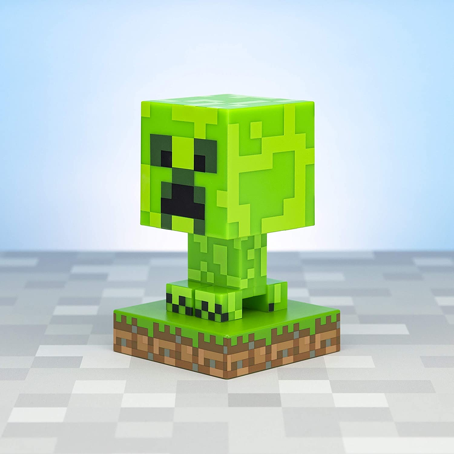 Minecraft Creeper Icon Light - Officially Licensed Merchandise