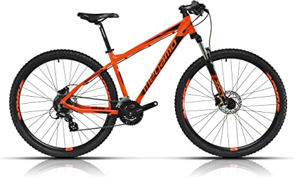 Megamo Natural 60 Bicicleta de Montaña, Hombre, Naranja, L: Amazon ...