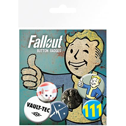 GB Eye, Fallout 4, Mix, Pack de Chapas,
