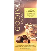 Godiva Chocolatier Individually Wrapped Milk Chocolate Caramel Truffles, 7 oz.
