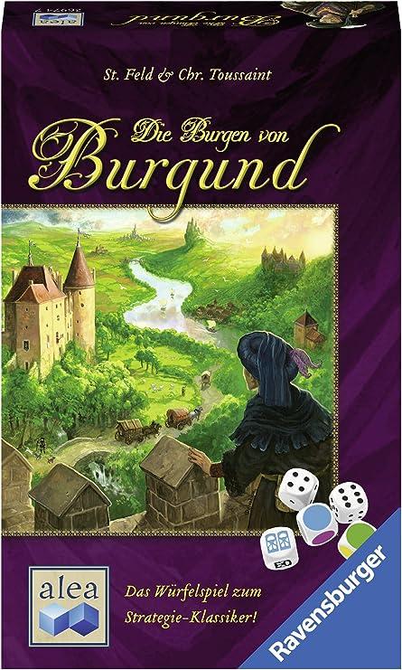 Ravensburger 26974Die Burgen von Burgund Dice Game .