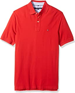 d191ce334 Amazon.com  Tommy Hilfiger Men s Big and Tall Button Down Short ...