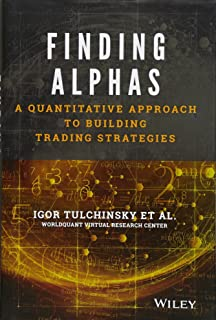 Quantitative Strategies For Achieving Alpha Pdf