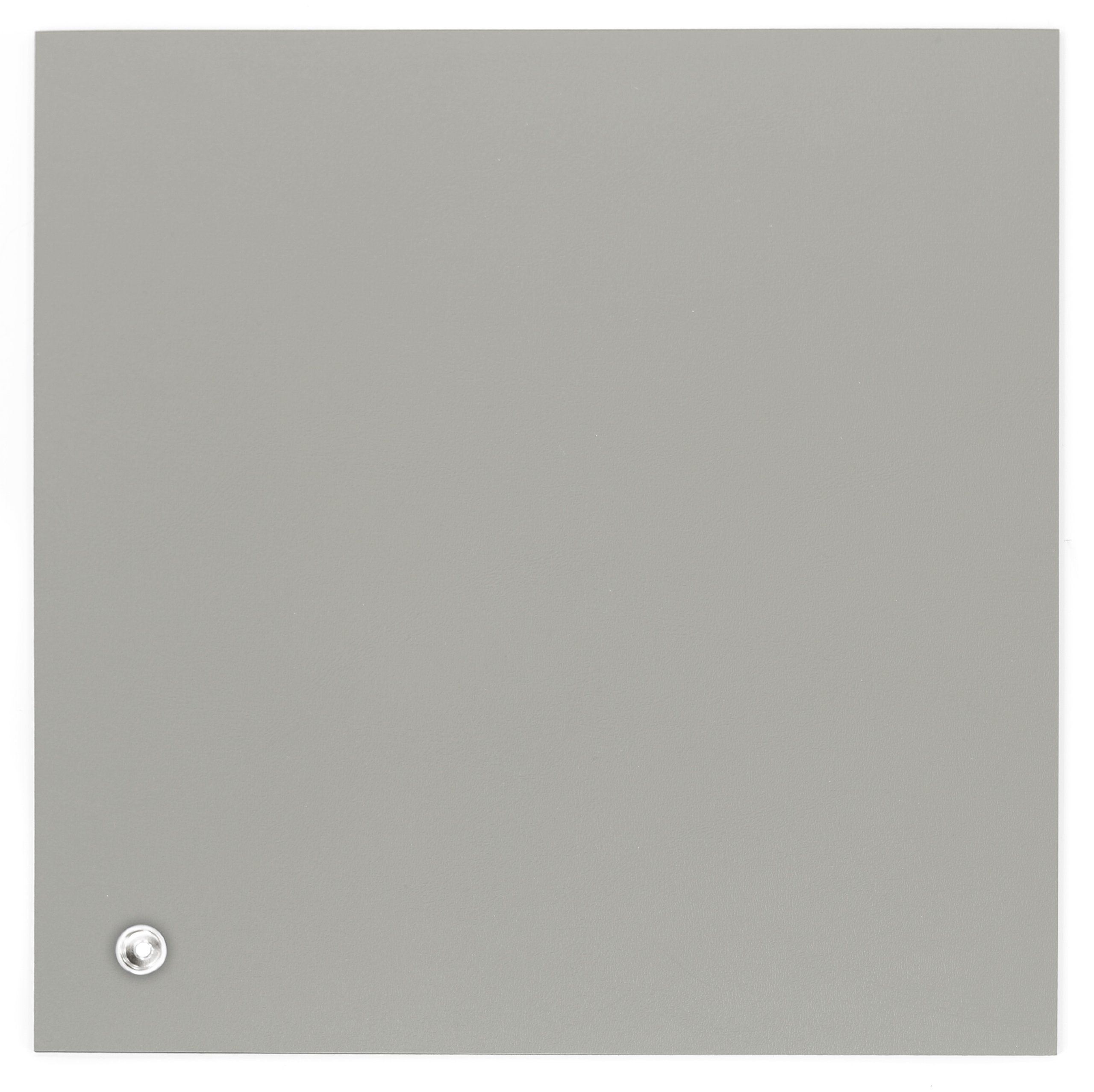 Botron B3425 Dissipative Gray 3 Layer Rubber Mat 60'' x 24'' x 0.12'' with Hardware and Grounding