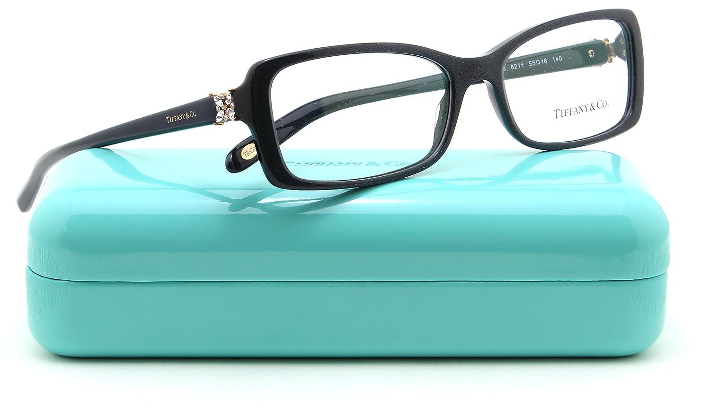 Amazon.com: Tiffany & Co. TF 2091-B Women Rectangle Eyeglasses RX ...