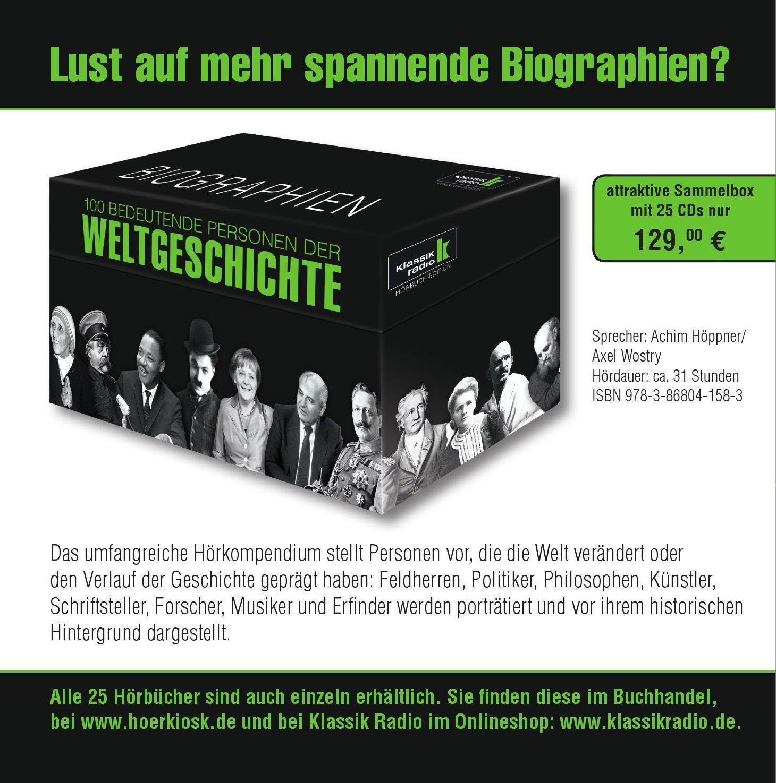 Rö Wilhelm C Bedeutende Personen der Weltgeschichte KLASSIK RADIO präsentiert