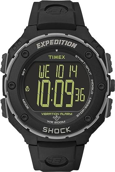 9321396fbda9 Timex Expedition Shock XL - Reloj análogico de cuarzo con correa de resina  para hombre