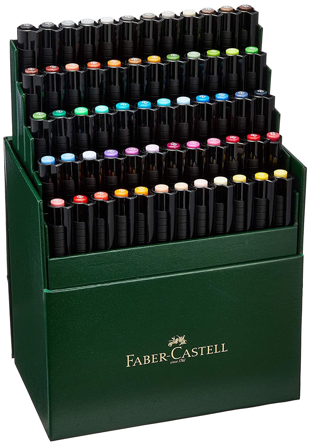 Faber Castell 60 Piece Pitt Artist Brush Pen Set Gift Box Notions - In Network FC167150