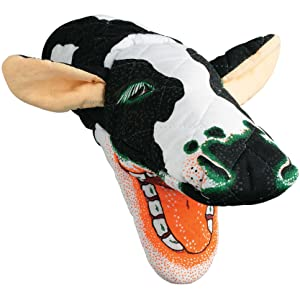 Holstein Cow Oven Mitt, Quilted Cotton, Designed for Light Duty Use, by Boston Warehouse