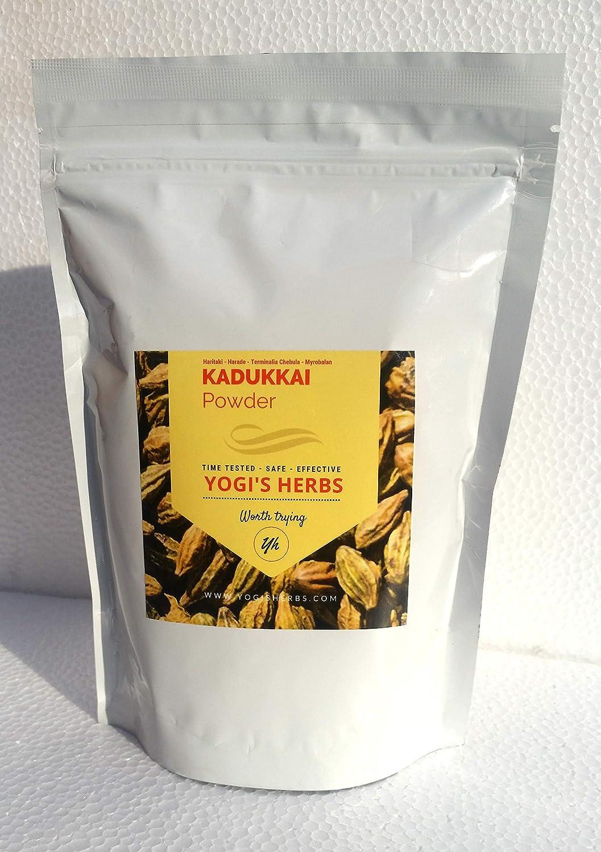 Yogis Herbs Kadukkai Powder (Terminalia Chebula/Haritaki) 1 lb – Fresh & Pure