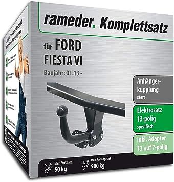 rameder Juego completo, remolque fijo + 13POL Elektrik para Ford Fiesta VI (142791 - 07585 - 1): Amazon.es: Coche y moto