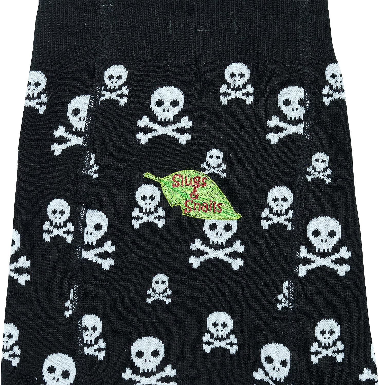Skull /& Cross Bones Ahoy Slugs /& Snails Unisex Girls Boys Tights