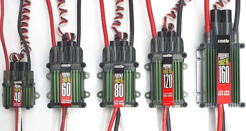 Castle Creations PHX Edge 120 HV - 120 Amp Electronic Speed Controller 812OWCx-P2BLSL1500_