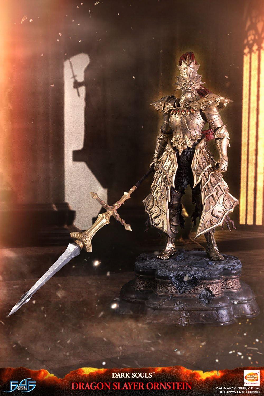 First 4 Figures Estatua Dragon Slayer Ornstein 67 cm. Dark Souls ...