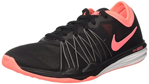 new styles 1b32a 1127c Image Unavailable. Image not available for. Colour  NIKE Dual Fusion Black Tr  Hit Shoes ...