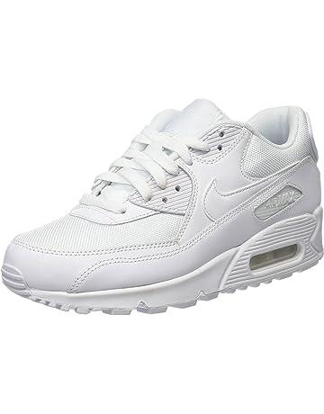 mor beyaz Nike Air Max düşük top spor ayakkabılar