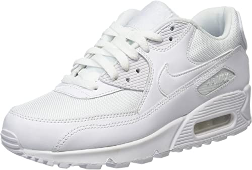 Nike Air Max 90 Essential Mens Trainers White Metallic