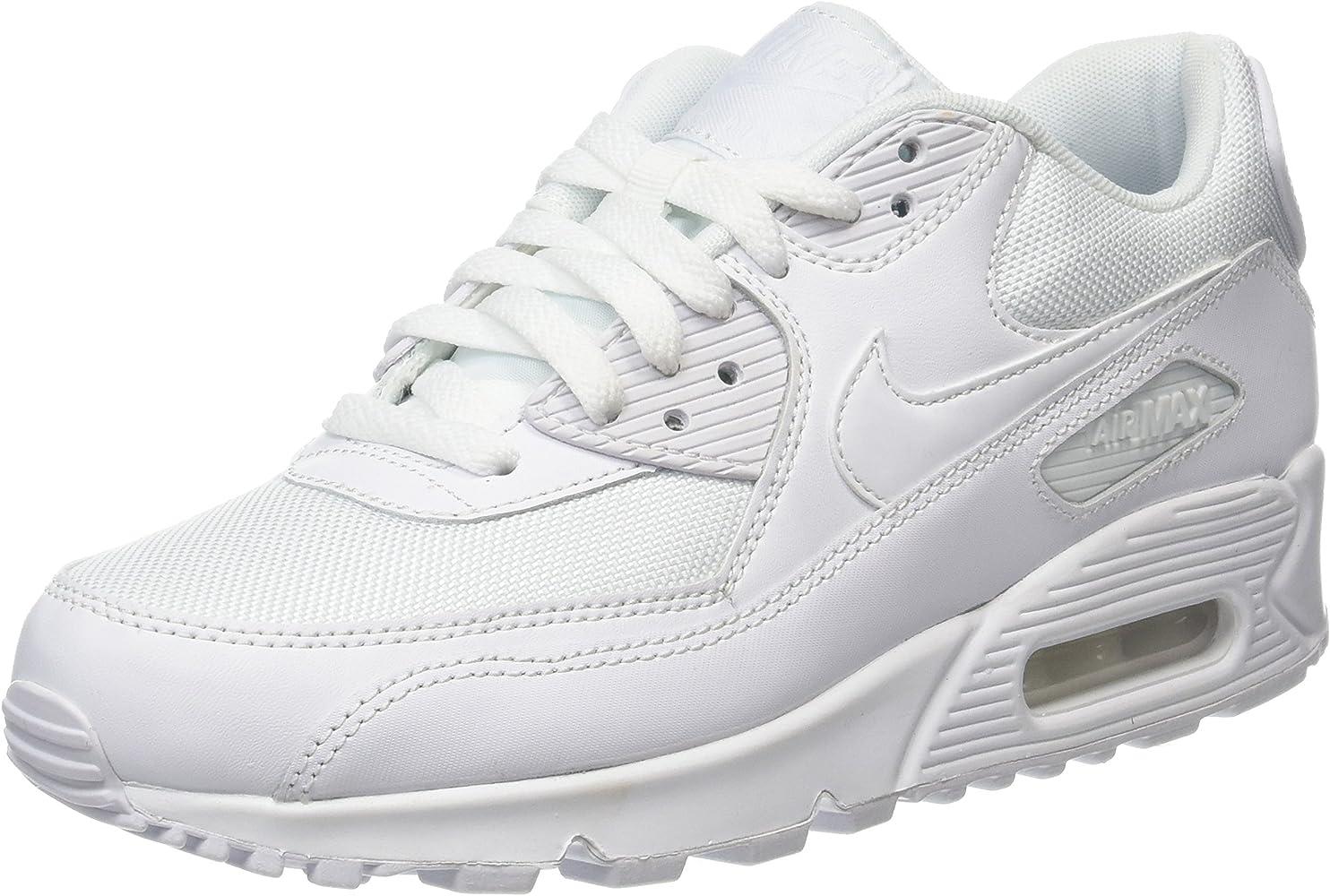 Nike Air Max 90 Essential White White White White 537384 111