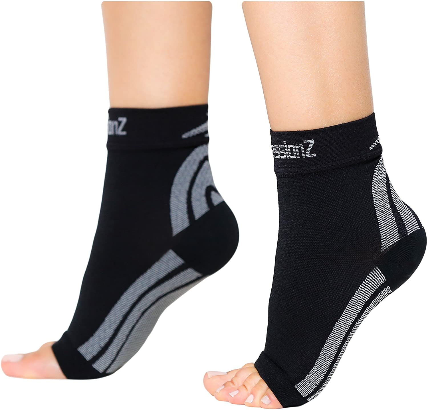 AVIDDA Plantar Fasciitis Socks with Heels Arch Supports Compression Sleeves Ideal for Arthritis Pain Relief and Suitable for Sports Ankle Supports for Men and Women