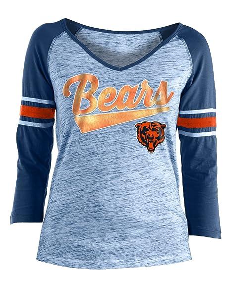 f1a856b33f9 Amazon.com : New Era Chicago Bears Women's NFL End Zone Space Dye 3 ...