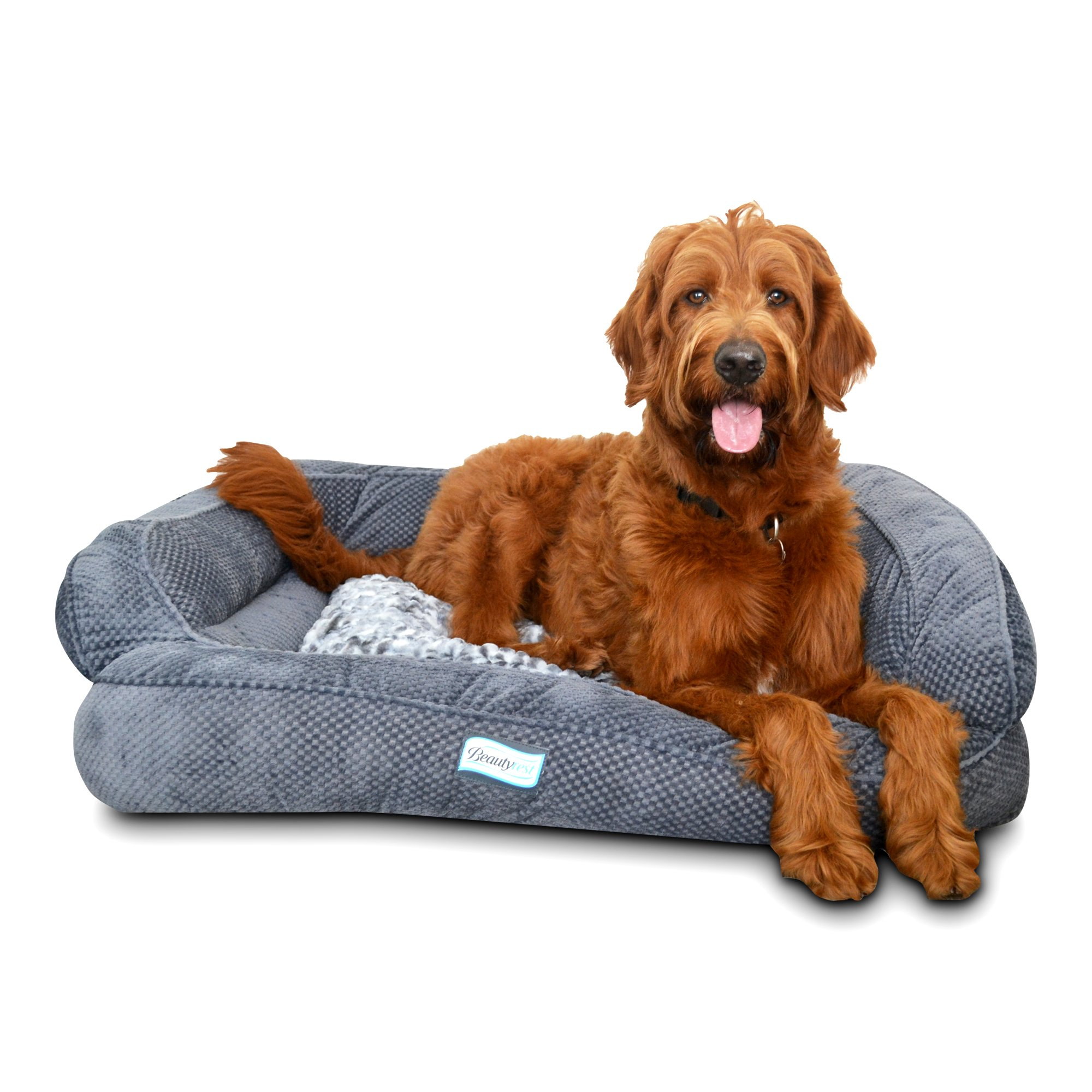 Simmons Beautyrest Colossal Rest Premium Dog Bed by Simmons Beautyrest Pet