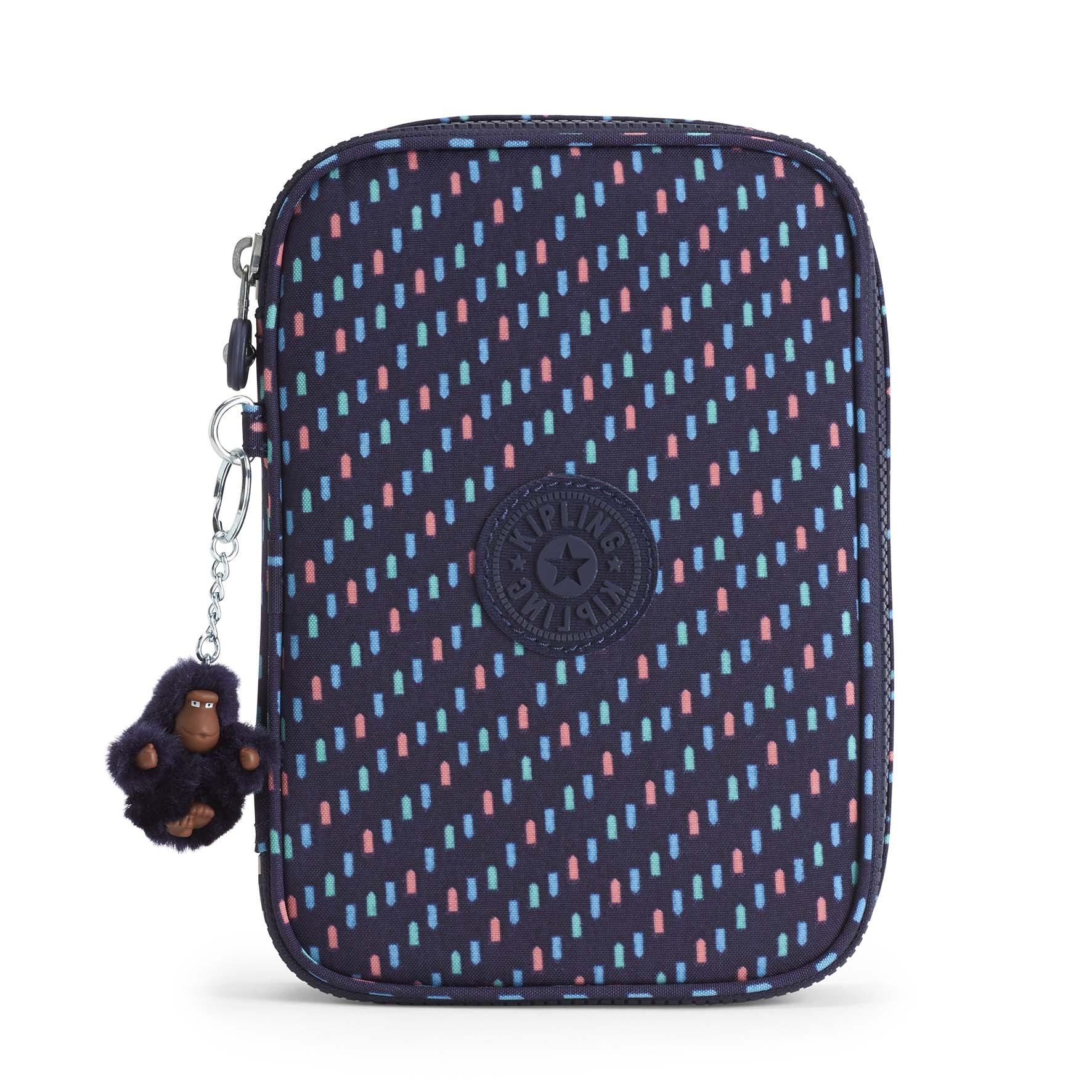Kipling Unisex Child 100 Pens, Blue Dash C