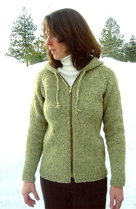 Amazon Bulky Neckdown Cardigan For Women Knitting Pure