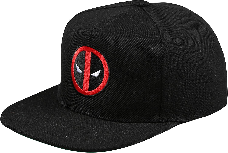Marvel Herren Deadpool Logo Schirmm/ütze