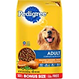 PEDIGREE Adult Complete Nutrition Roasted Chicken, Rice & Vegetable Flavor Dry Dog Food 50 Pounds