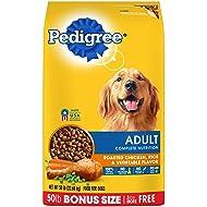 Pedigree Complete Nutrition Adult Dry Dog Food Roasted Chicken, Rice & Vegetable Flavor, 50 Lb. Bag