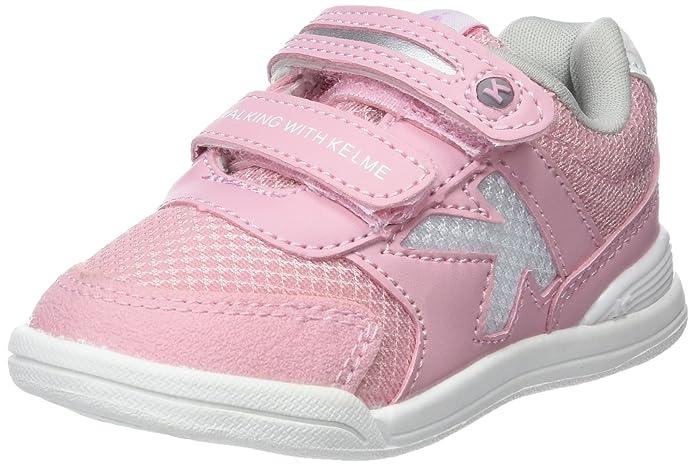Kelme Tech Mesh, Zapatillas para Niñas, Rosa (Rosa 155), 26 EU