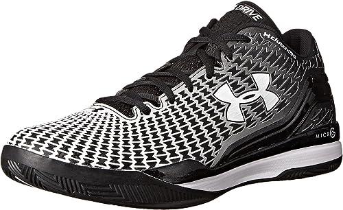 9417b45c39f7 Under Armour Men s ClutchFit Drive Low Basketball Shoes Black Size 11.5 ...