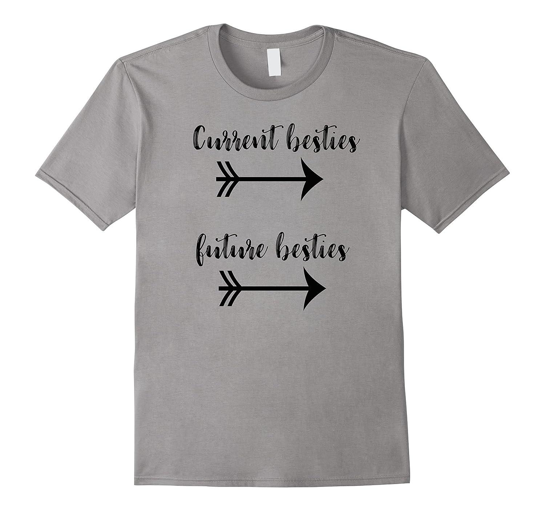 Pregnant Friend t shirt gift - Future Bestie Pregnancy shirt-T-Shirt