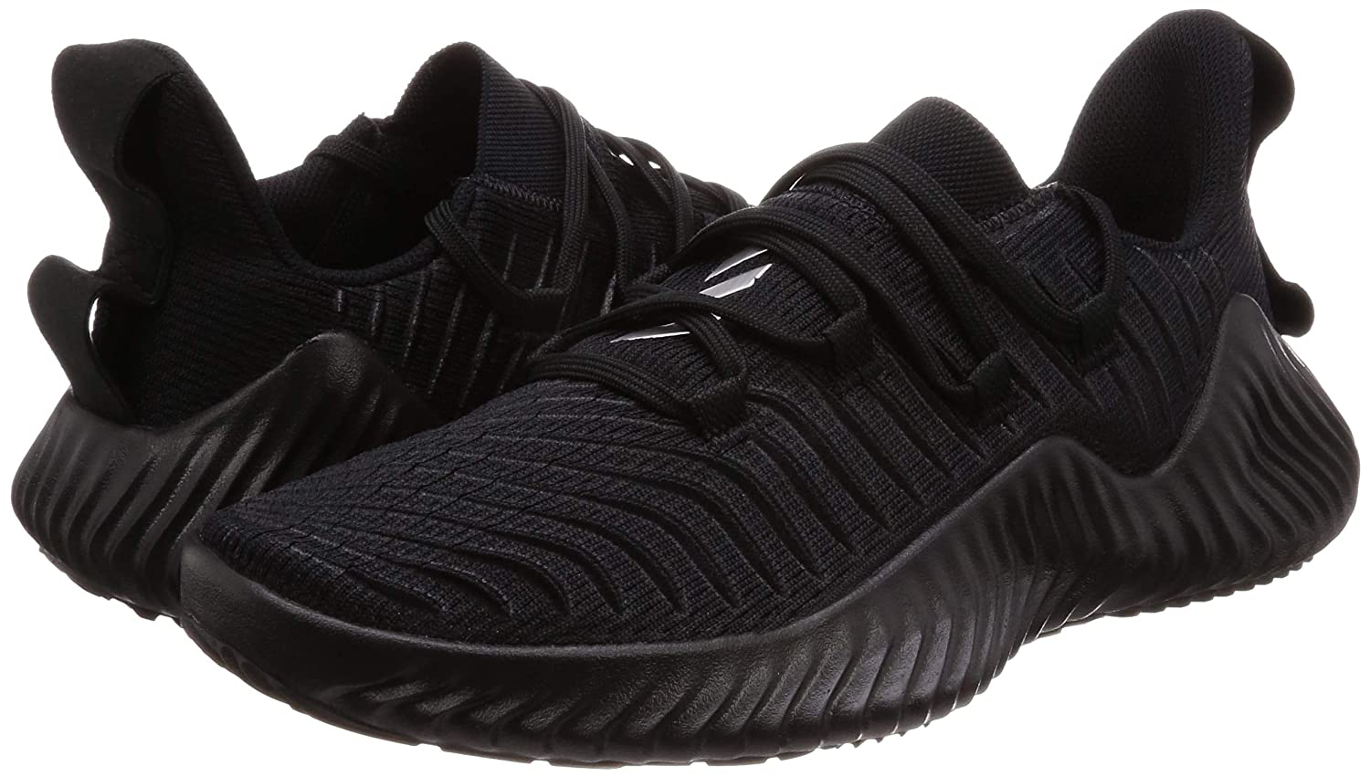 8e2dcc2d95e5d Adidas Men s Alphabounce Trainer Cblack Running Shoes-8 UK India (42 1 9  EU) (AQ0609)  Buy Online at Low Prices in India - Amazon.in