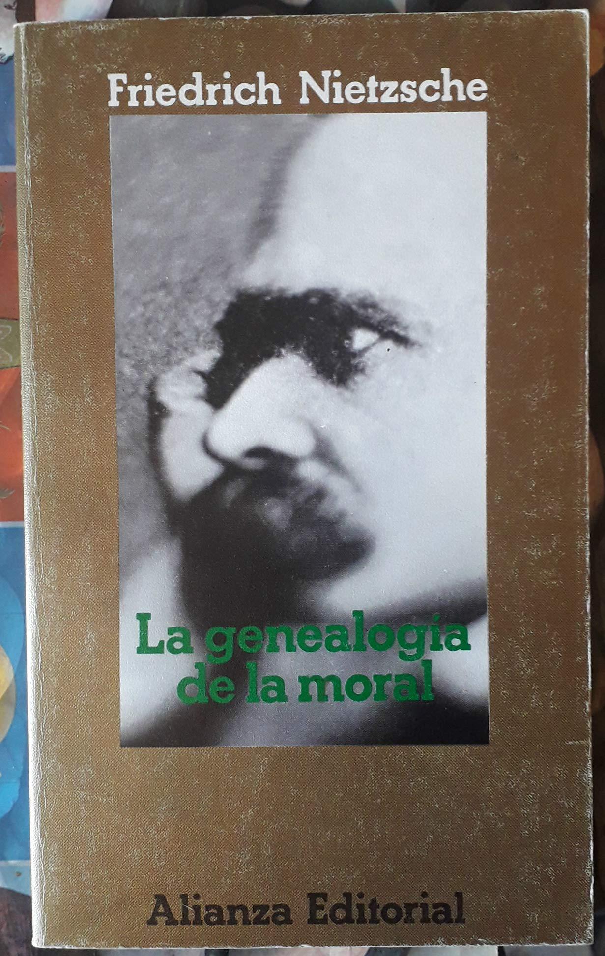 La genealogia de la moralf: Amazon.es: Nietzsche, Friedrich: Libros