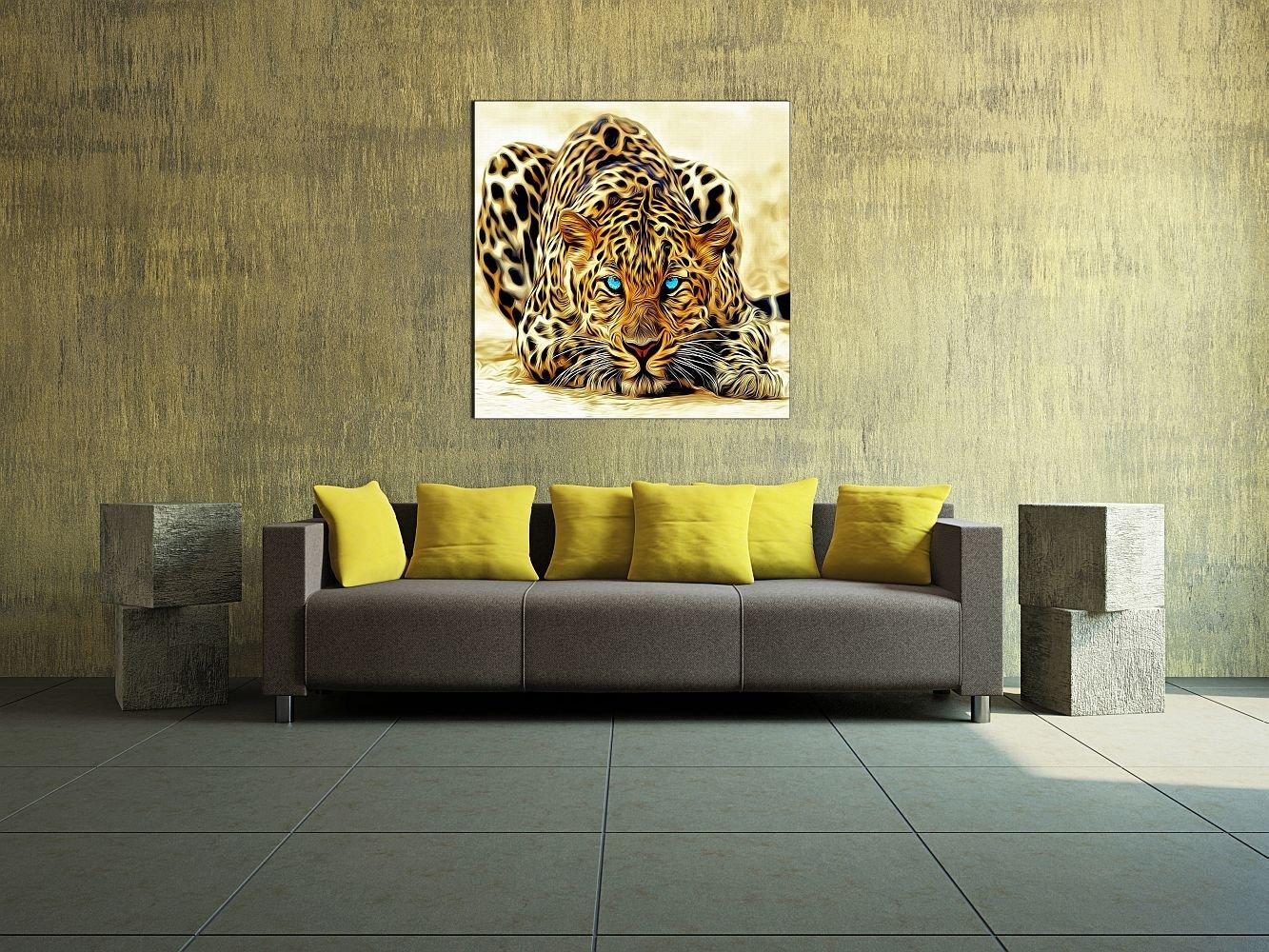 Amazon.com: Startonight Canvas Wall Art Leopard, Animals USA Design ...