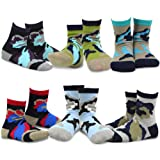 Amazon Price History for:Naartjie Kids Boys Cotton Fashion Fun Crew Socks 6 Pair Pack