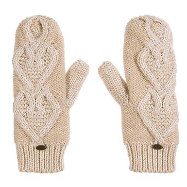 Animal Women's Prali Gloves, Off-White (Vanilla Cream), One Size